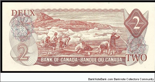 Banknote from Canada year 1974