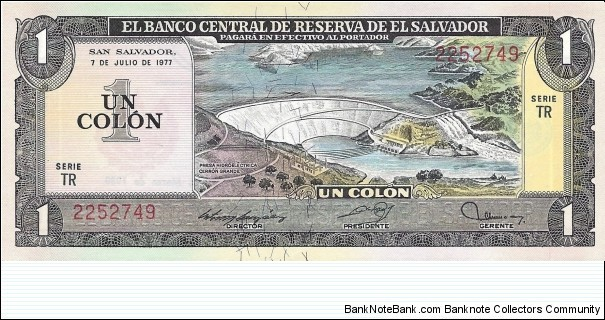 EL SALVADOR 1 Colon