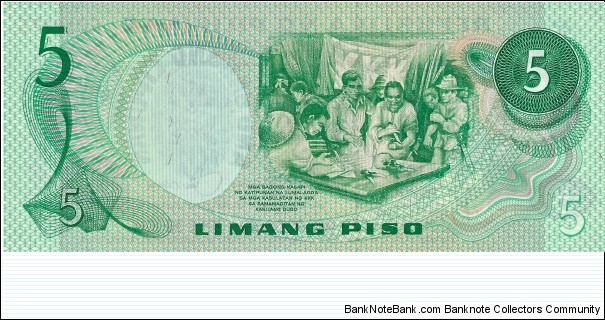 Banknote from Philippines year 1978