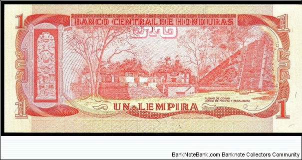 Banknote from Honduras year 1978