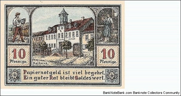 Banknote from Germany year 1921