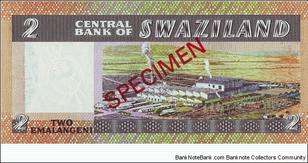 Banknote from Swaziland year 0