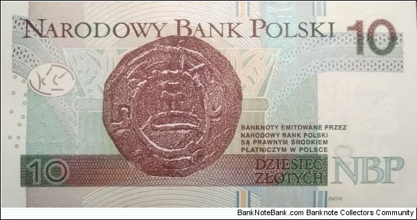 Banknote from Poland year 2016