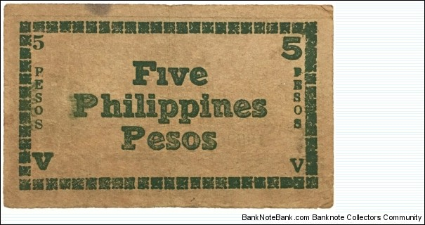 Banknote from Philippines year 1944