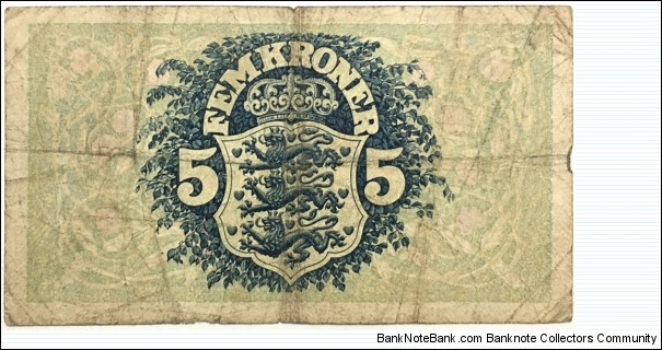 Banknote from Denmark year 1940