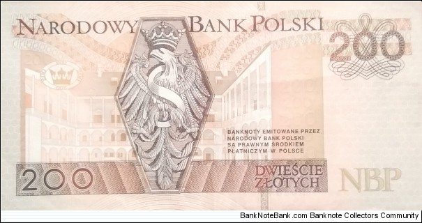 Banknote from Poland year 1994