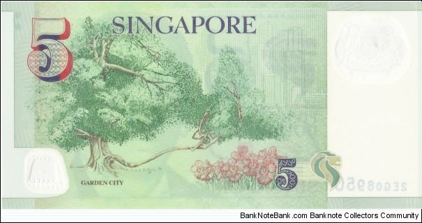 Banknote from Singapore year 2006
